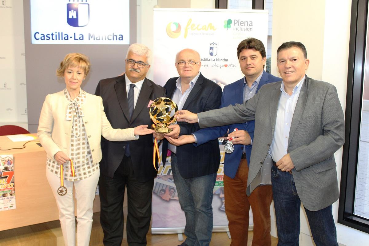 Presentación Campeonato de Fútbol 7 Inclusivo de Fecam