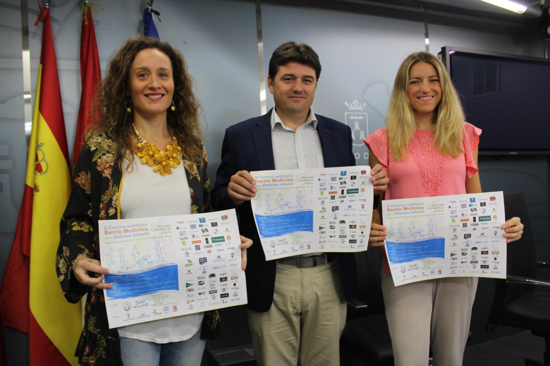 Presentación Carrera Solidaria a beneficio de Asociación Diabetes Cero