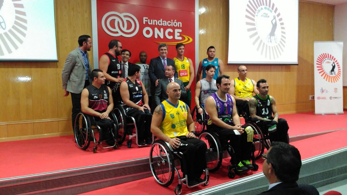 Presentación de la División de Honor de Baloncesto en Silla de Ruedas