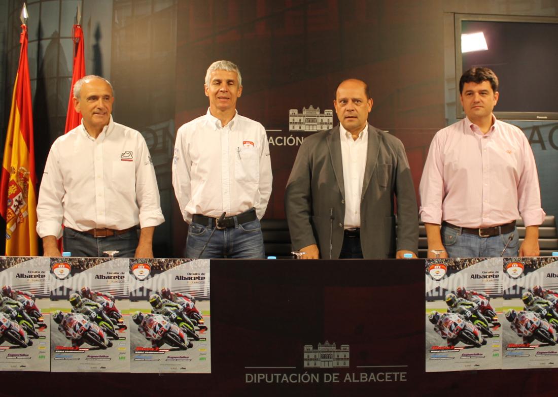 Presentación del FIM CEV Repsol en Albacete