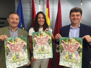 Presentación IV Torneo de Fútbol Sala a beneficio de Asprona