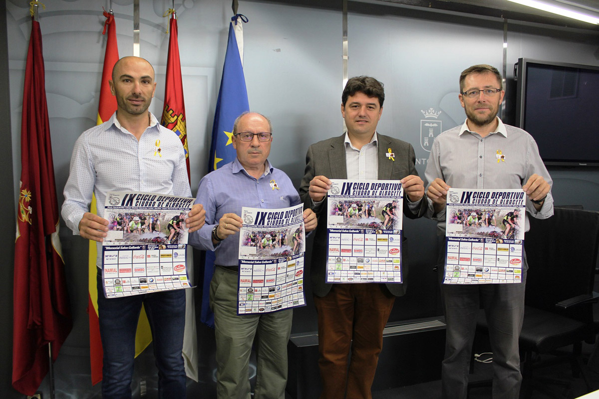 Presentación IX Ciclo Deportiva Ciudad de Albacete 'Memorial Salva Gallardo'