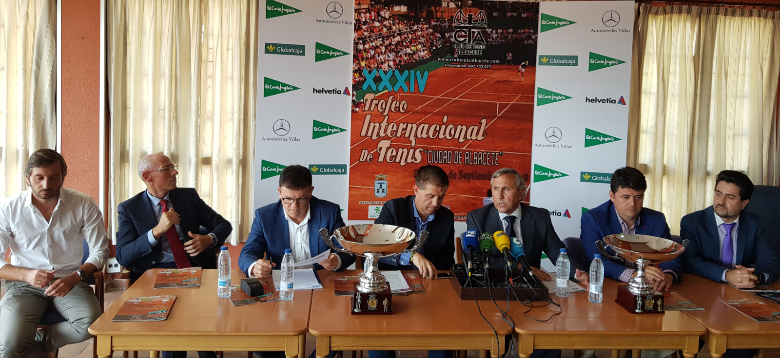 Presentación Trofeo Internacional de Tenis Ciudad de Albacete