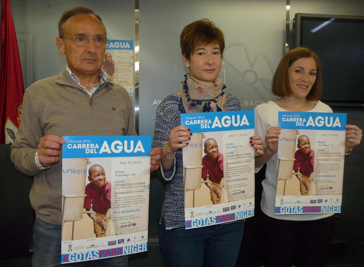 Presentación V Carrera Solidaria del Agua
