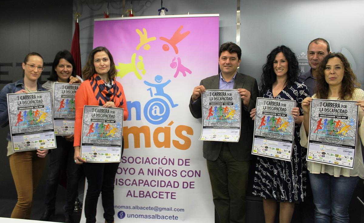 Presentación de la I Carrera por la Discapacidad Ciudad de Albacete
