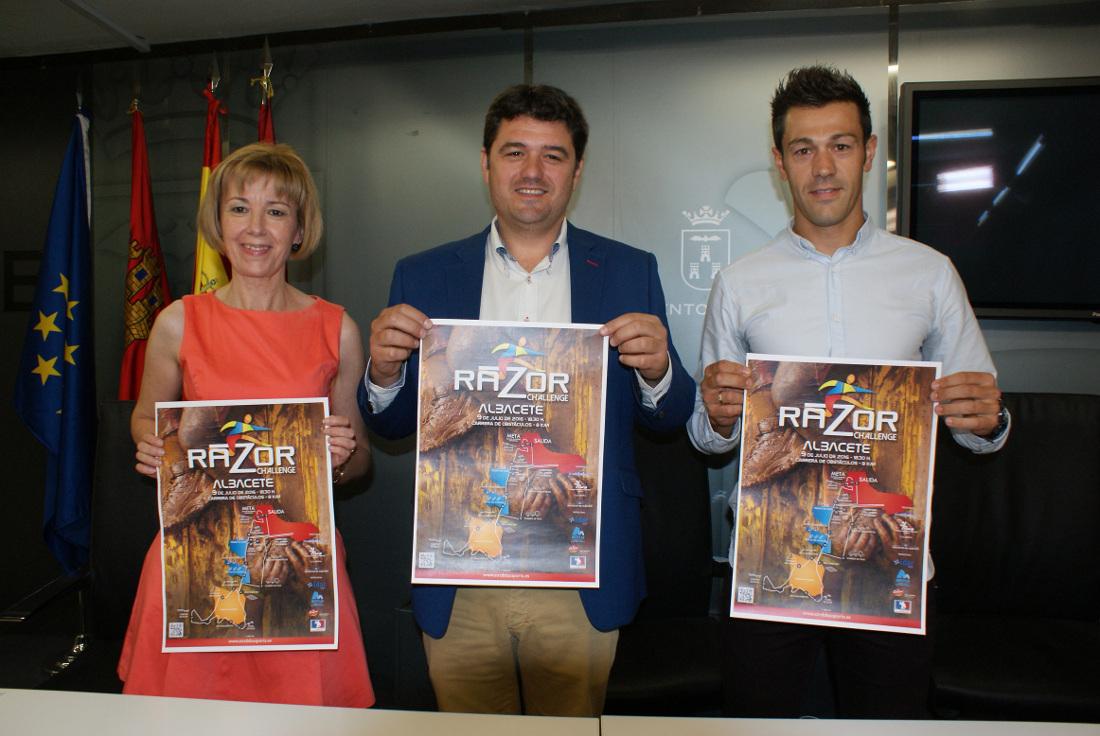 Presentación de la Razor Challenge Albacete