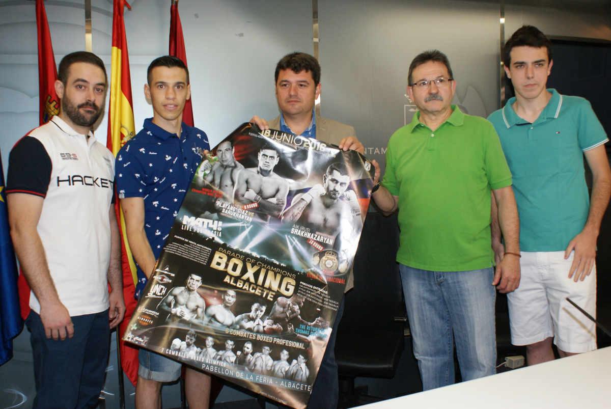 Presentación de la Velada de Boxeo en Albacete