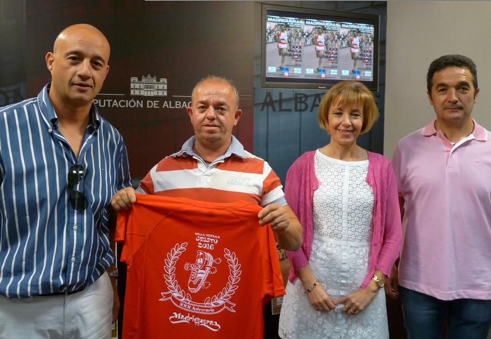 Presentación de la XXX Milla Urbana de Madrigueras