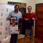 Presentación de la camiseta del aniversario del CB Villarrobledo