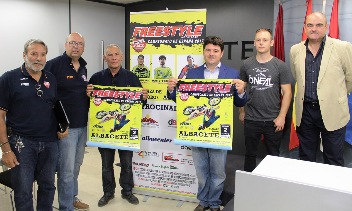 Presentación del Campeonato de España de Freestyle