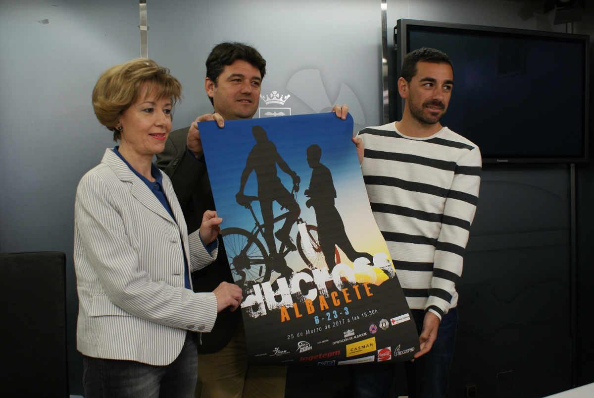 Presentación del I Duatlón Cross Ciudad de Albacete