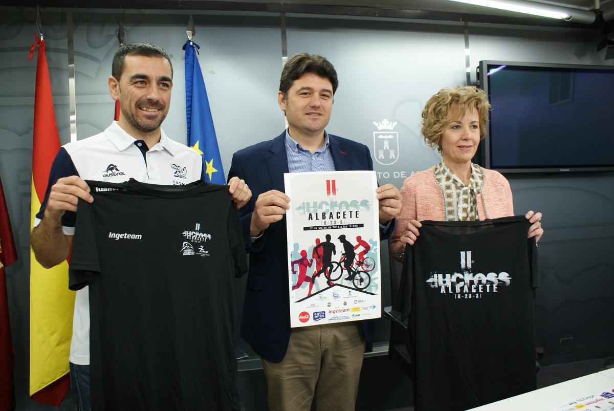 Presentación del II Duatlón Cross Ciudad de Albacete 2018