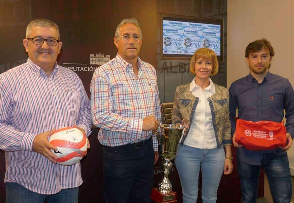 Presentación del Torneo Diputación de Fútbol 8