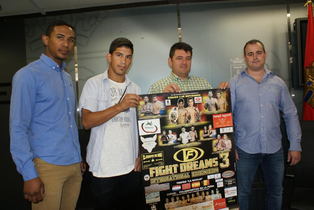 Presentación del Torneo Internacional de Kick Boxing La Navaja Fight Dreams 3