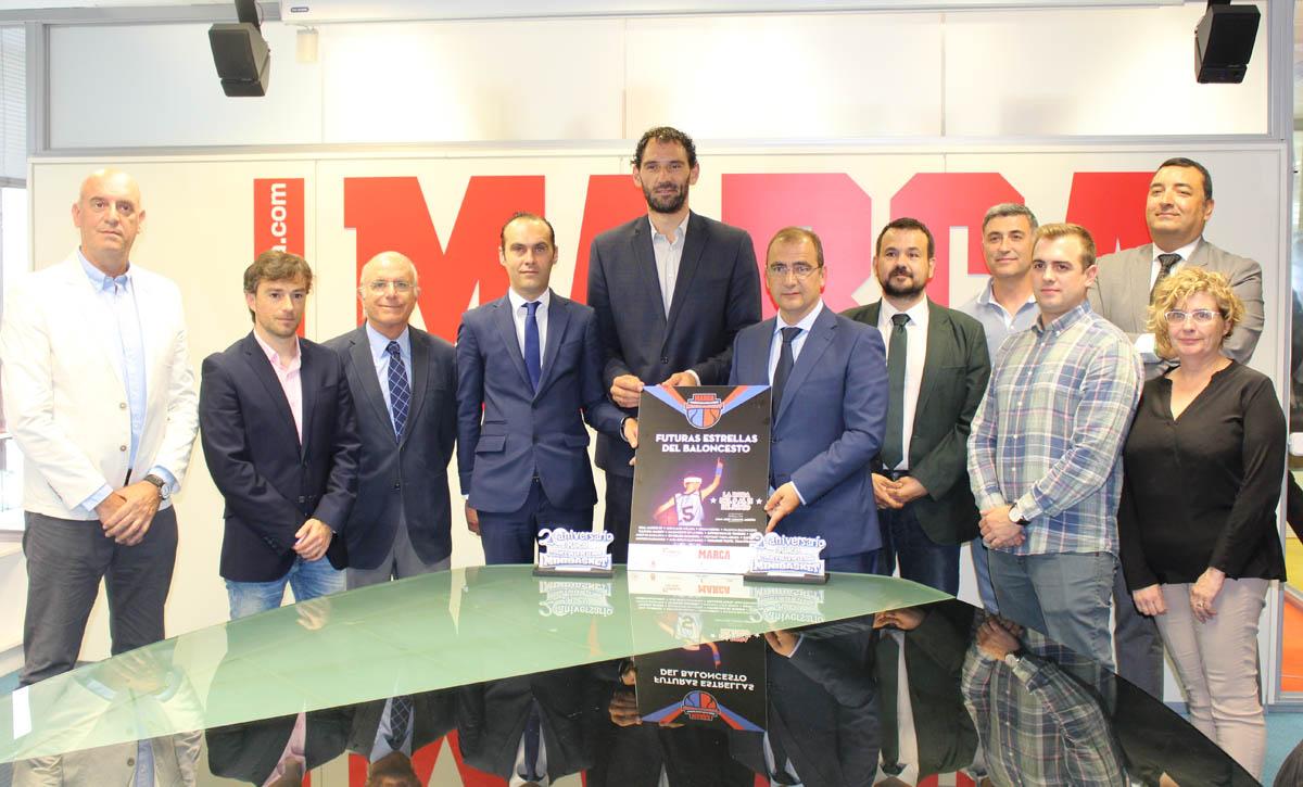 Presentación del XX Torneo Marca Villa de La Roda de Minibasket