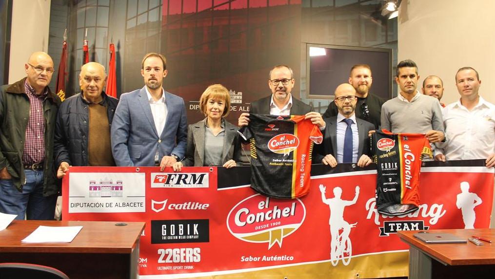 Presentación del equipo El Conchel - Diputación de Albacete - Racing Team