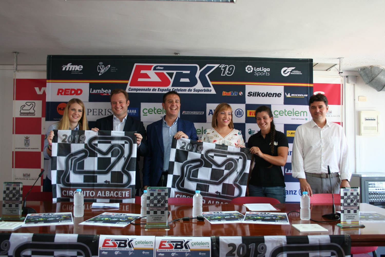 Presentación oficial del Campeonato de España Cetelem de Superbike