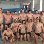 Primer equipo del Waterpolo Albacete en Petrer