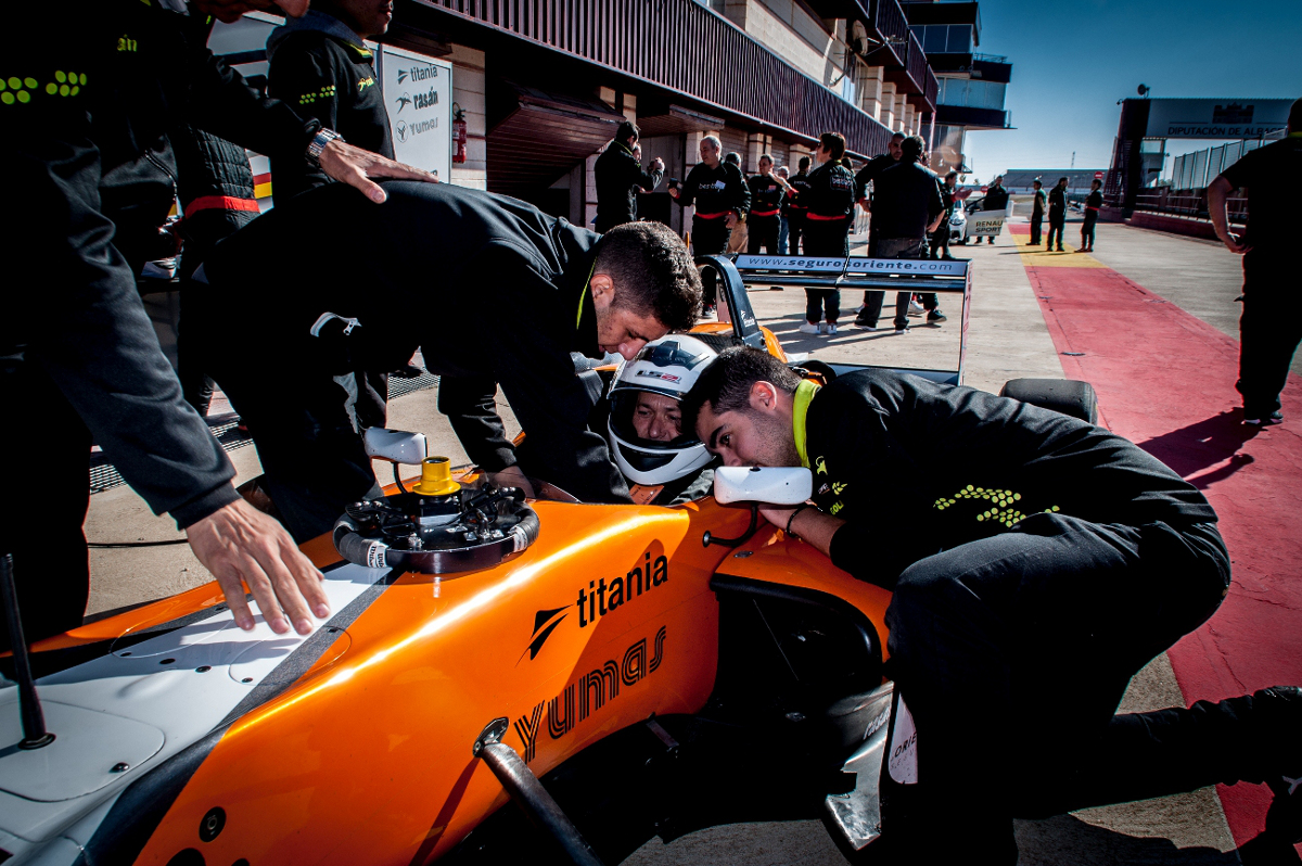 Racing Experience en el Circuito de Albacete
