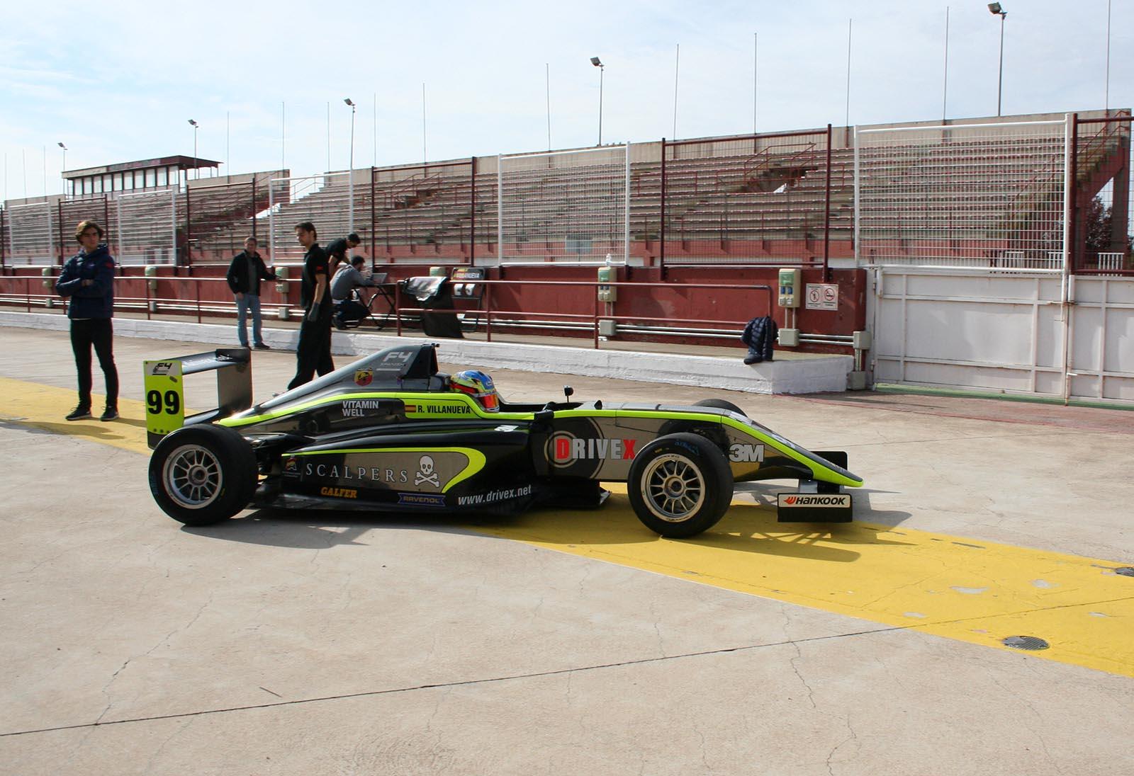 Rafa Villanueva en el Circuito de Albacete