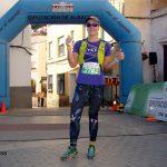 Raquel Padilla en la Carrera de Trail de Letur