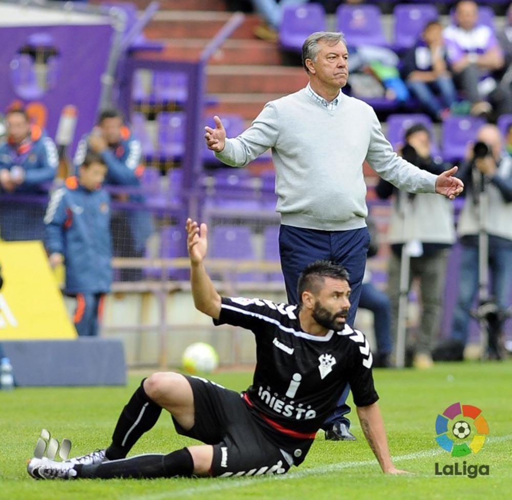 Real Valladolid - Albacete Balompié (Foto LFP)