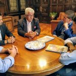 Reunión FECAM en la Diputación