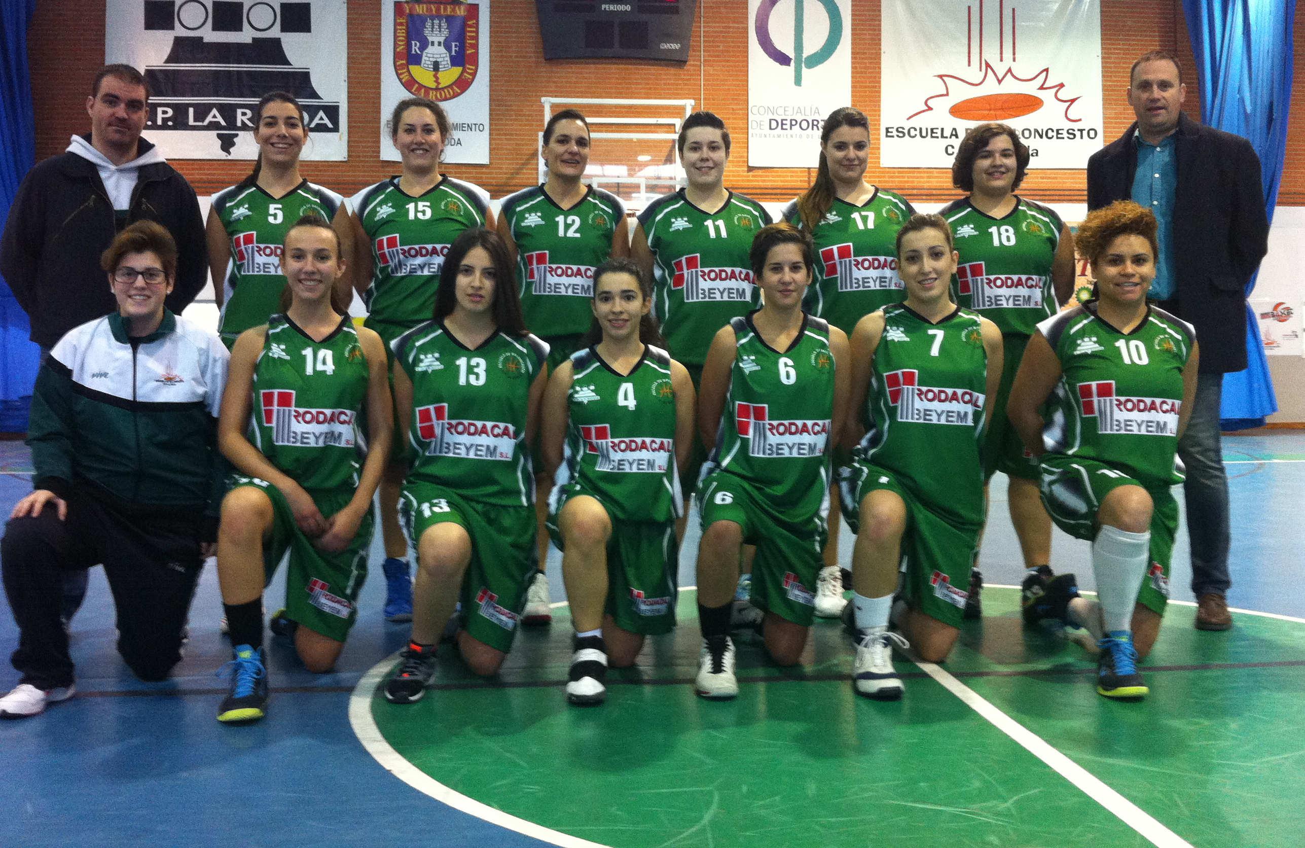 Rodacal Beyem CP La Roda temporada 2015-2016