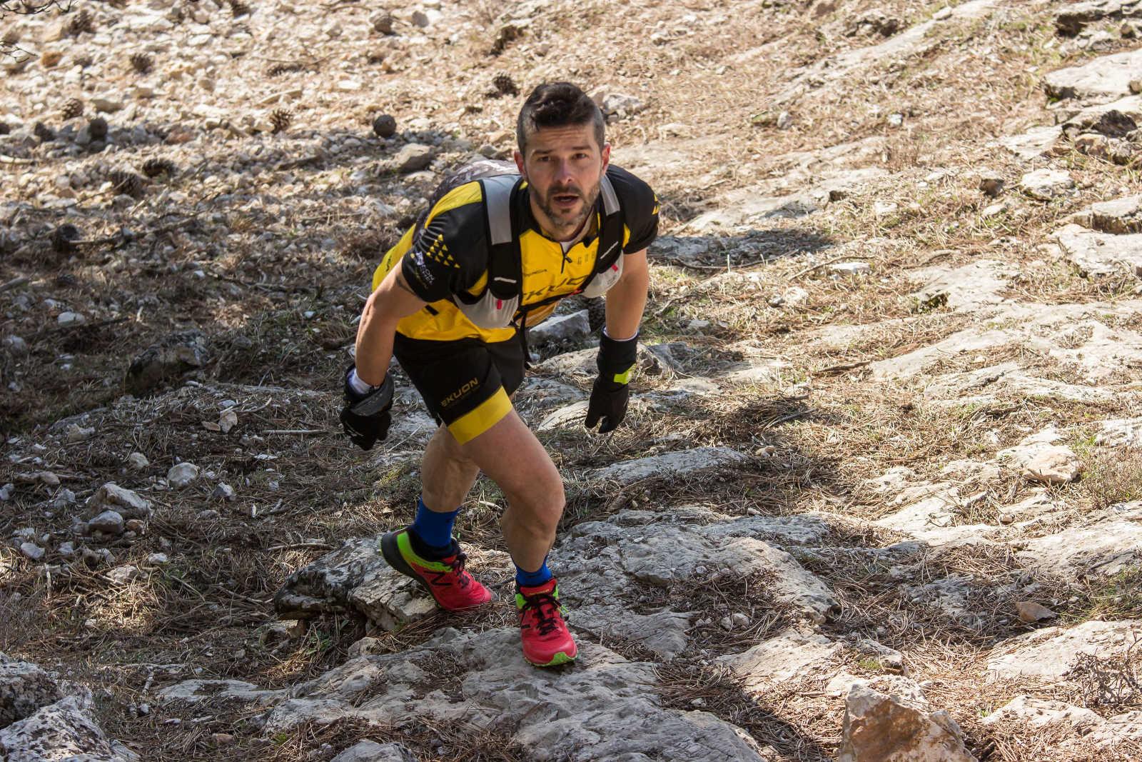 Rodolfo Juan en la Vertical Trail a La Sarga 2018 (Foto: Gabriel Martínez)