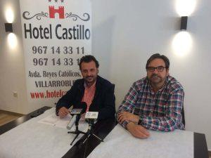 Manuel Jiménez 'Junior' y José Luis Melero
