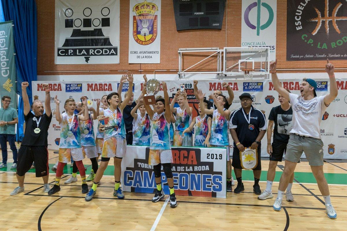 SKM TRVLTM Vilnius, campeón del XXII Marca Villa de La Roda de Minibasket 2019