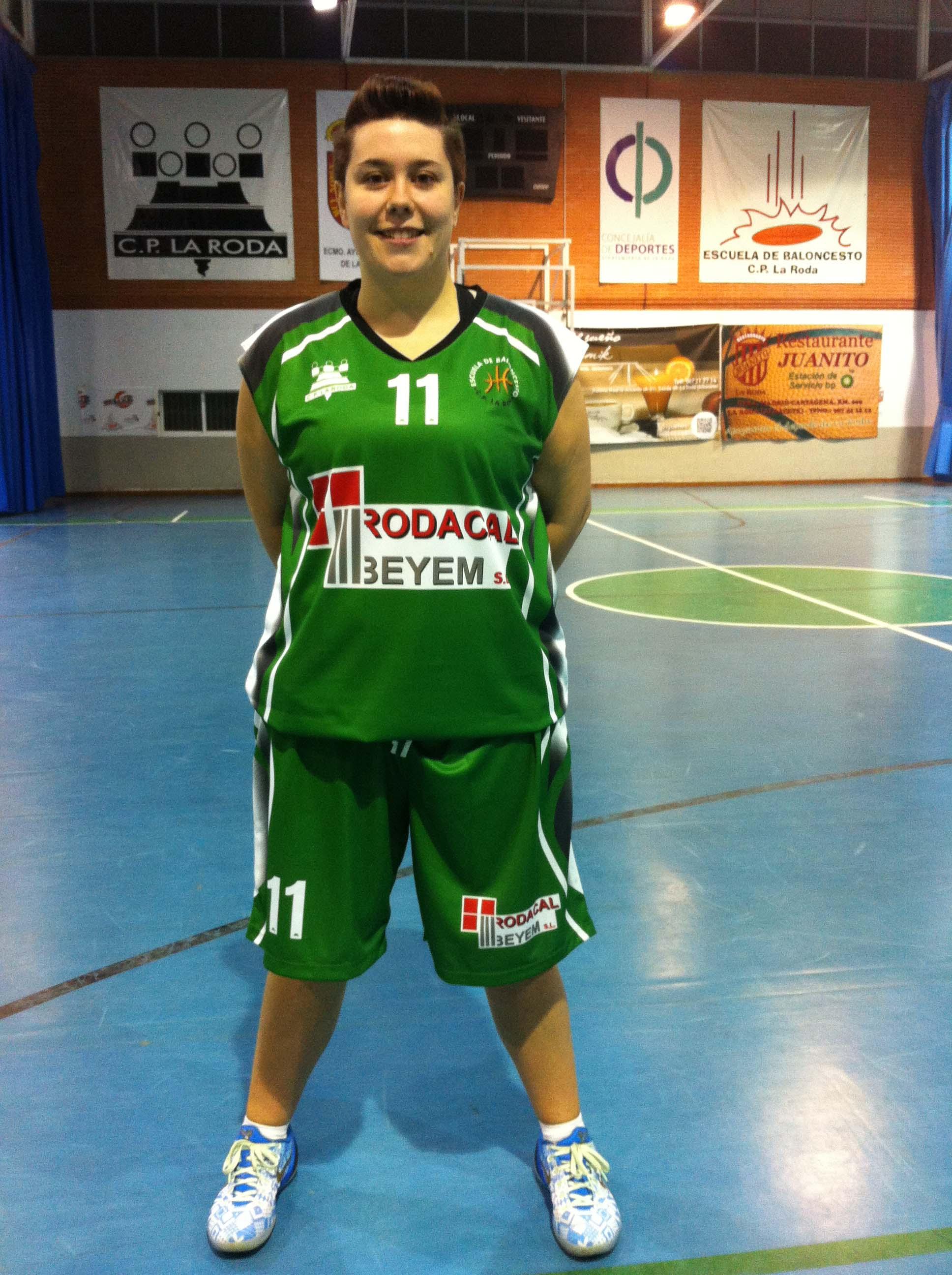 Sagra Tebar, jugadora del Rodacal Beyem CP La Roda