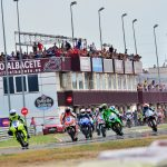 Salida de Superstock 600 en 2017