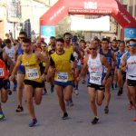 Salida de la Carrera Popular de Chinchilla 2019