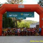Salida de la III Carrera Popular de Villaverde de Guadalimar