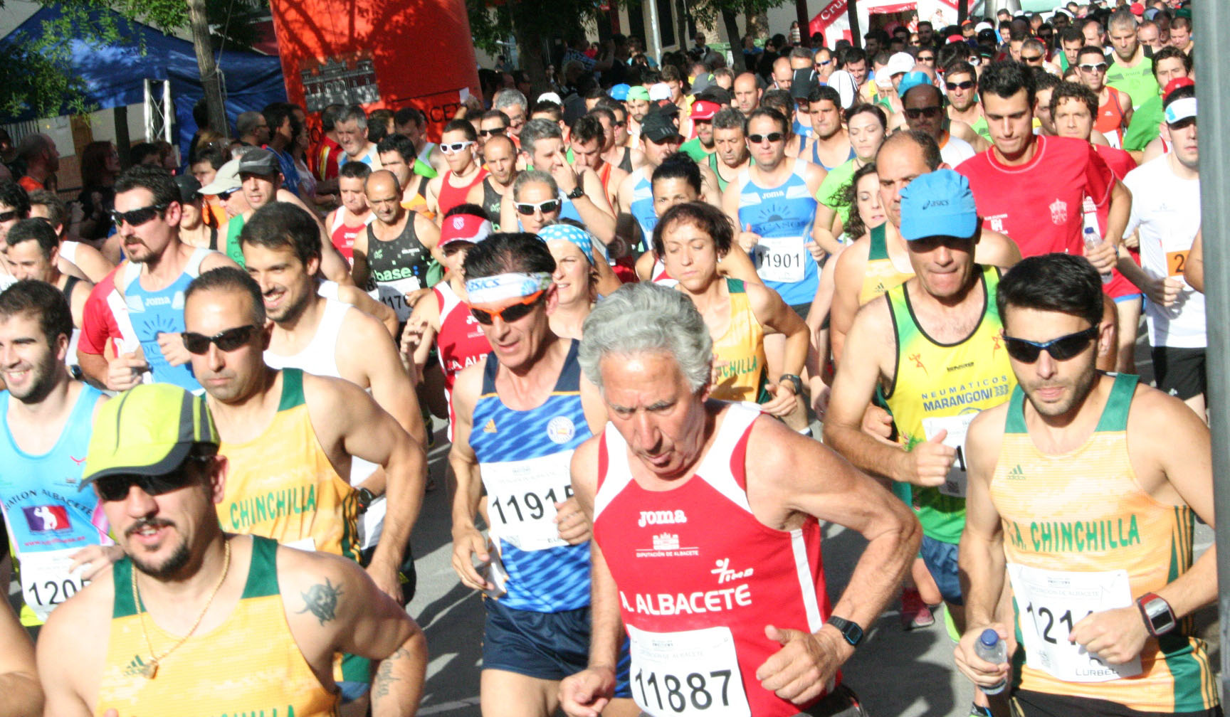 Salida de la XII Carrera Popular de Tobarra