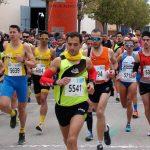Salida de la XVII Media Maratón Villa de La Roda