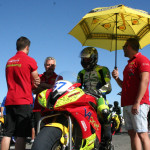 Santi Pastrana, pole en Supersport