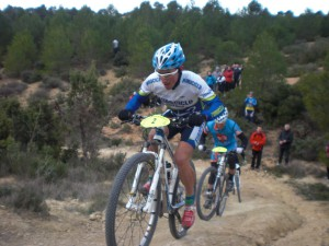Santiago Madrona durante una prueba (Foto: Prodepor)