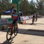 Santiago Madrona vence en la prueba BTT de Villamalea