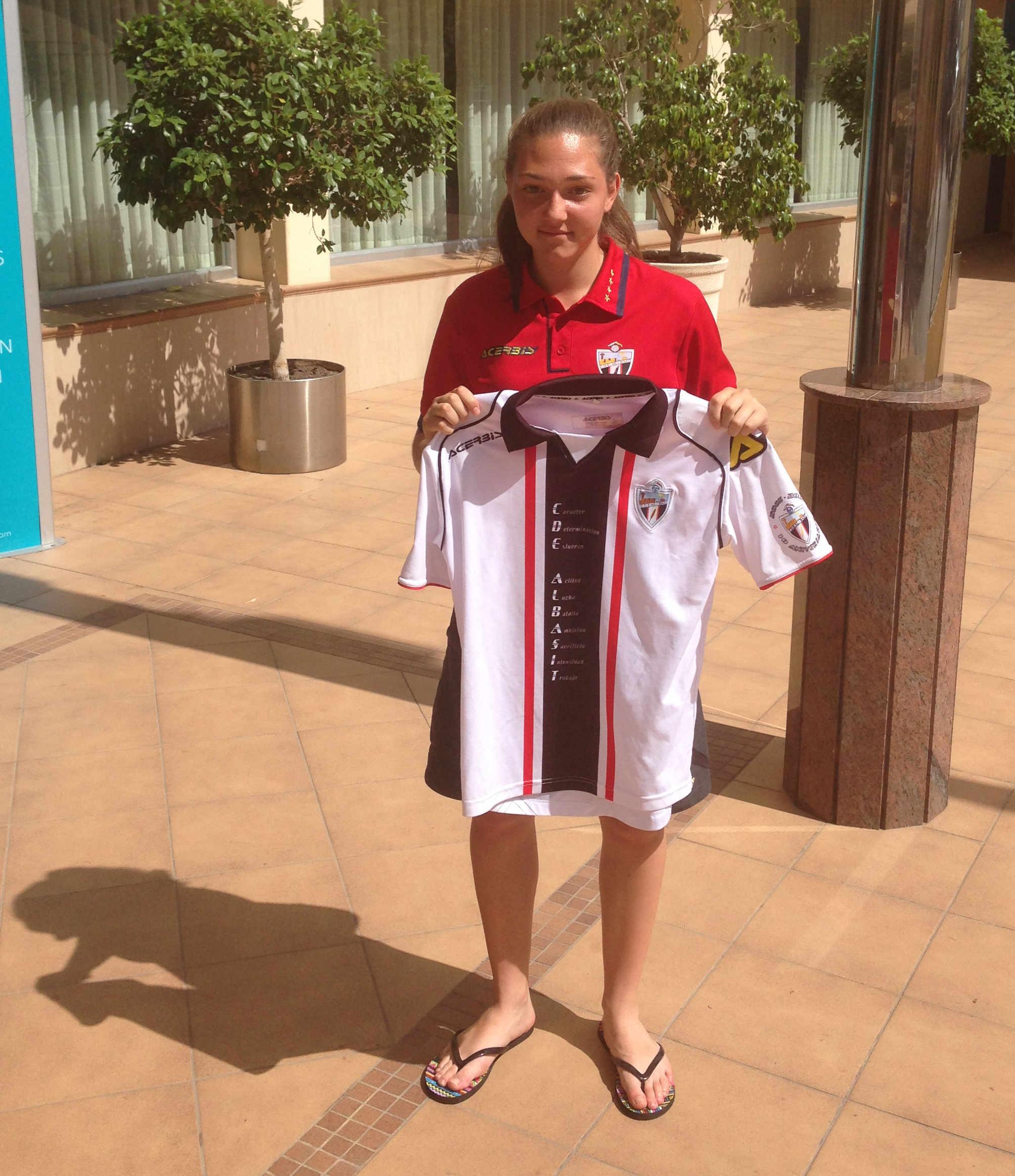 Sara Rubio, nueva jugadora del CD Al-Basit