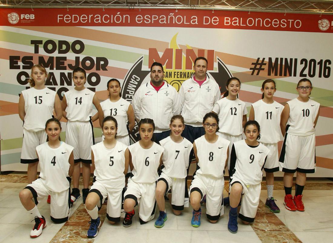 Selección de Castilla-La Mancha de Minibasket Femenino