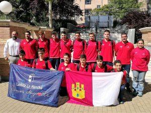 Selección infantil de Castilla-La Mancha de waterpolo