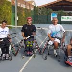 Semifinalistas del Trofeo Ciudad de Albacete de tenis en silla de ruedas