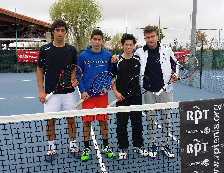 Semifinalistas masculinos Torneo Marca
