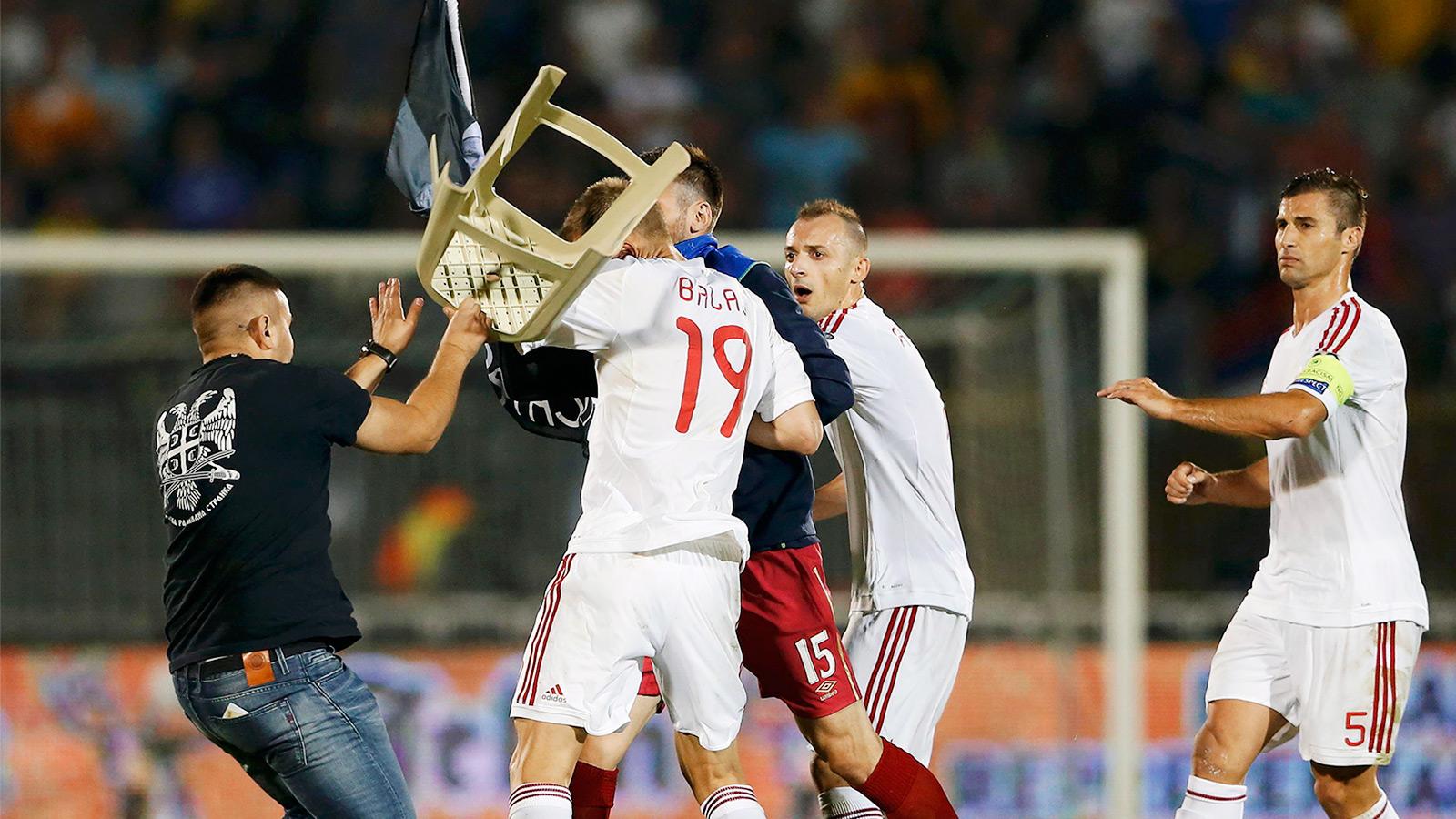 Serbia - Albania (Foto: Fox Sport)