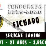 Serigne Lamine, nuevo jugador del Albacete Basket