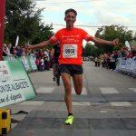 Severino Felipe en la Carrera Popular de Aguas Nuevas