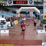 Severino Felipe entrando en meta (Foto: Paco Villaescusa)