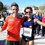 Severino Felipe y María José de Toro en Barrax